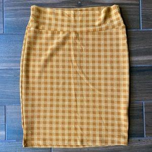 Lularoe Plaid Skirt